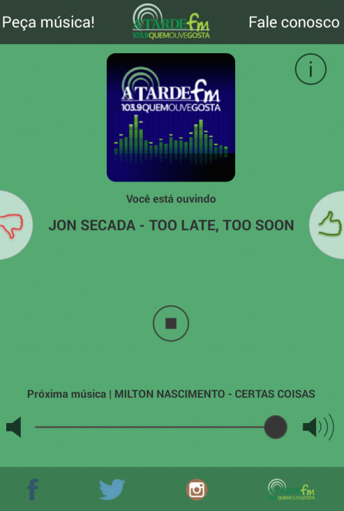 Rádio - A Tarde FM- screenshot