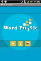 Screenshot of Word Master