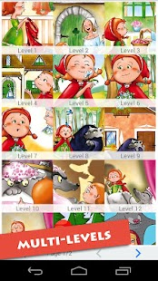 玩免費休閒APP|下載Little Red Riding Hood Cartoon app不用錢|硬是要APP