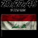 Iraq Digital Clock icon