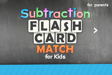 Subtraction Flash Card Kids- screenshot thumbnail