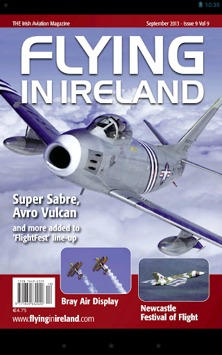 Flying In Ireland