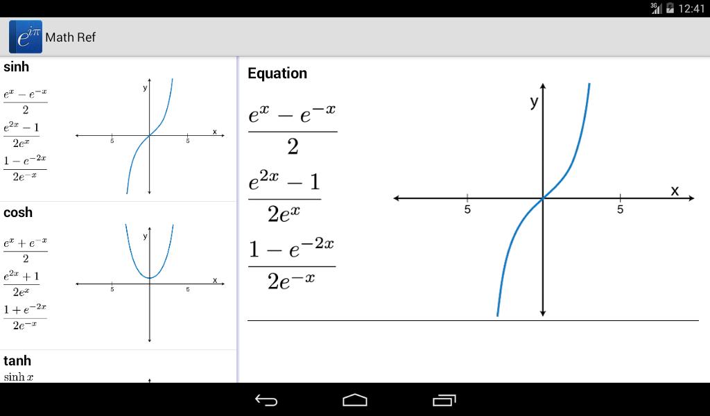 Math Ref screenshot #6