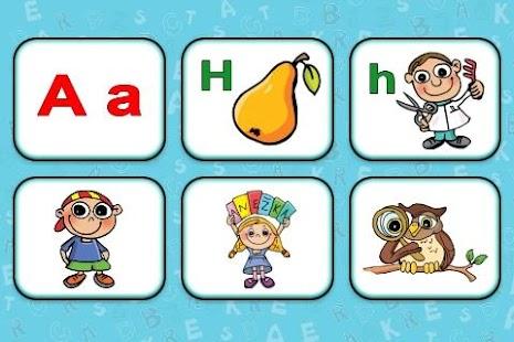 Abeceda pro děti - výukové hry- screenshot thumbnail