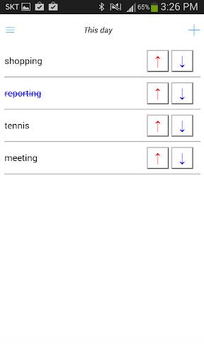 任務列表(排序)