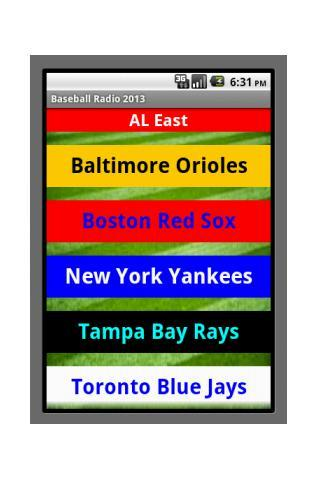 Baseball Radio