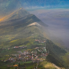 Mount Bromo, East Java, Indonesia by Suriati Yacob - Landscapes Mountains & Hills ( mount, indonesia, east java, bromo )