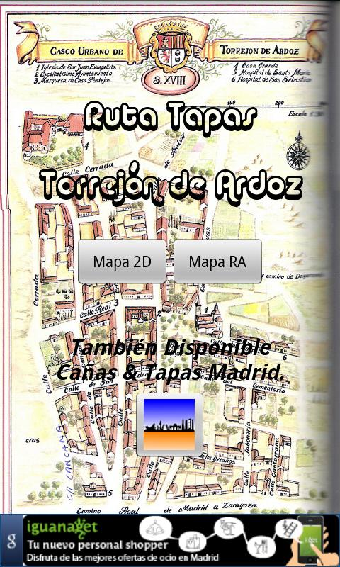 Ruta Tapas Torrejón- screenshot