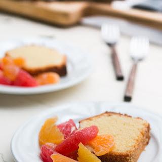 Orange-Glazed Polenta Cake