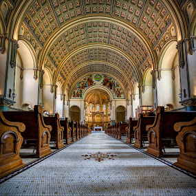 St Josaphat Parish Church by John Williams - Buildings & Architecture Places of Worship ( church, architecture, interior archetecture, places of worship )