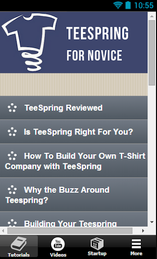 TeeSpring For Novice