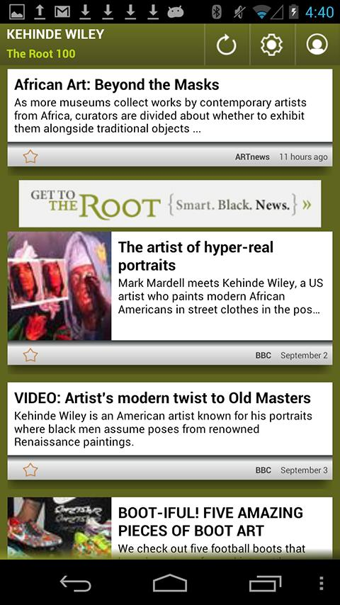 Kehinde Wiley: The Root 100 - screenshot