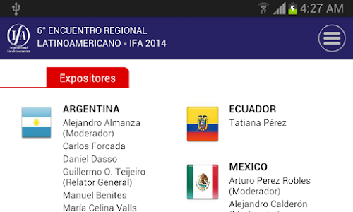 IFA Bolivia 2014 screenshot 2