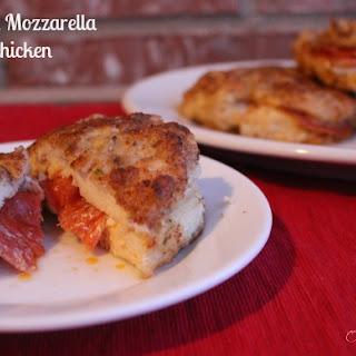 Pepperoni and Mozzarella Stuffed Chicken