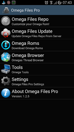 Omega Files Pro v1.3.5 [Patched]