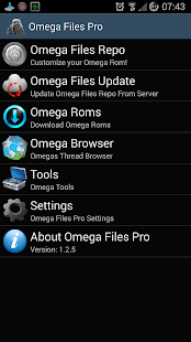 Omega Files Pro- screenshot thumbnail