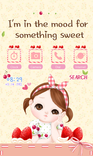 CUKI Themes Sweet girl