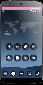 one black Theme HD icons Pack v1