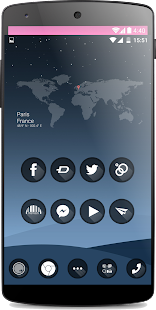 one black Theme HD icons Pack - screenshot