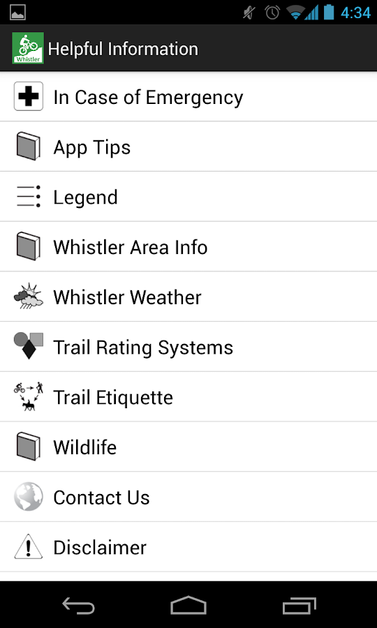 TrailMapps: Whistler- screenshot