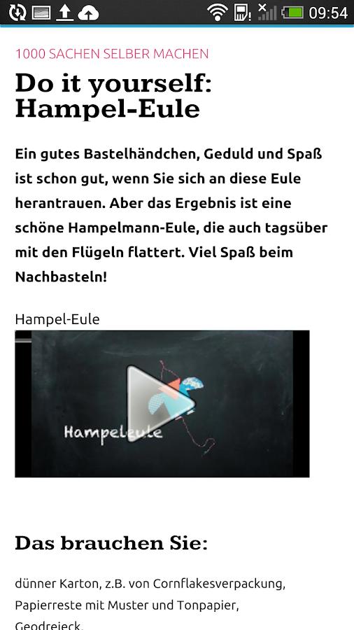 ELTERN online - screenshot
