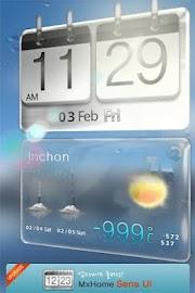 Sense HTC style MX Theme free Screenshot 2