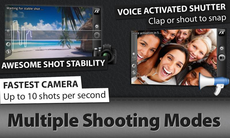 Camera ZOOM FX - screenshot