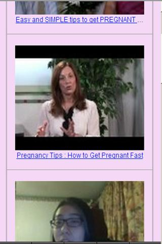 Get Pregnant Fast Tips - screenshot