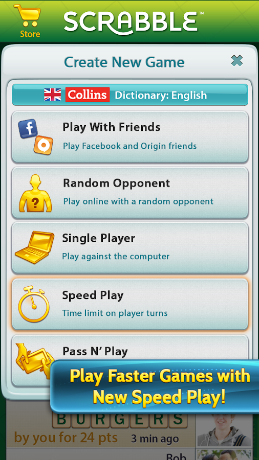 SCRABBLE - screenshot