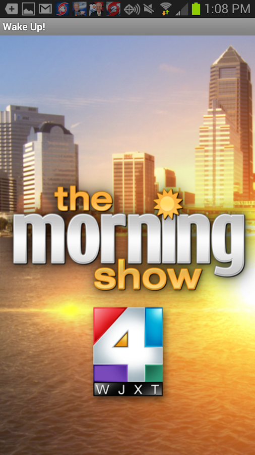 Wake Up with News 4 Jax WJXT- screenshot