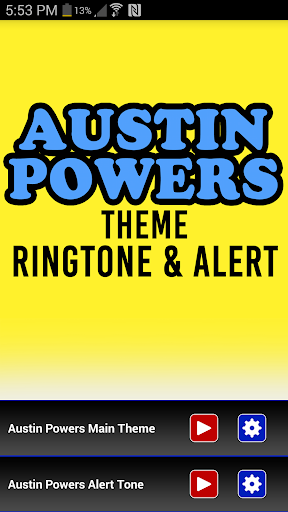 Austin Powers Theme Ringtone