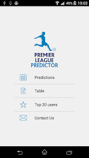 Premier League Predictor- screenshot thumbnail