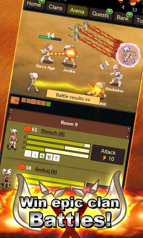Blood & Honor - Glory War RPG- screenshot