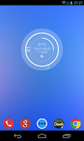 Screenshot of Simply Skin for Zooper Widget