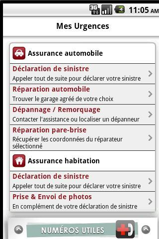 Assurance - screenshot