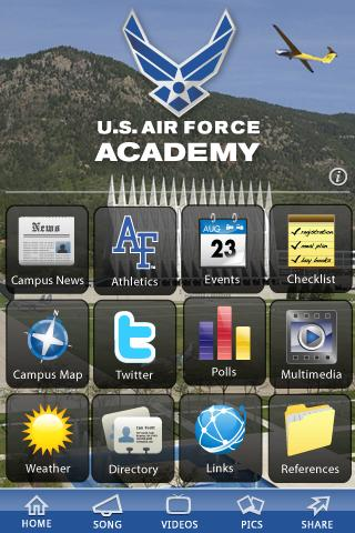 U.S. Air Force Academy- screenshot