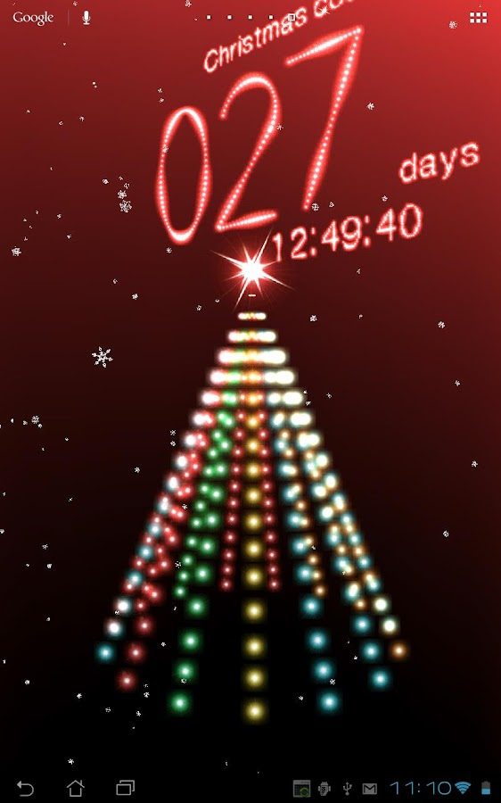 Christmas Countdown Free - screenshot