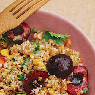 Bulgur Salad with Cherries