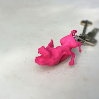 Flying Dog Pendant/Keychain