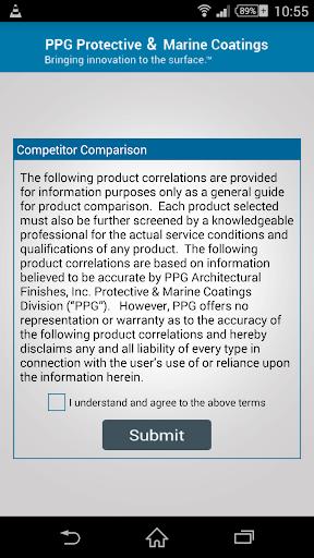 PPG Competitor Comparison