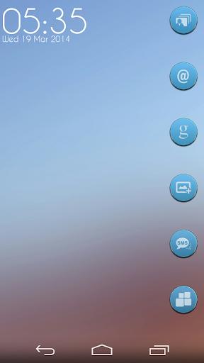 玩個人化App|VM9 Blue Glass Icons免費|APP試玩