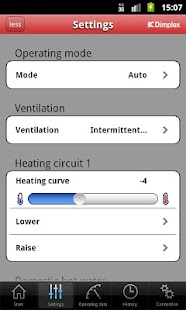 HeatPumpApp- screenshot thumbnail