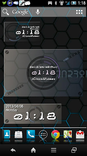 Digital Clock Widget Xperia - Google Play の Android アプリ