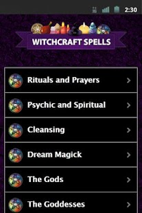 Witchcraft Spells - screenshot thumbnail
