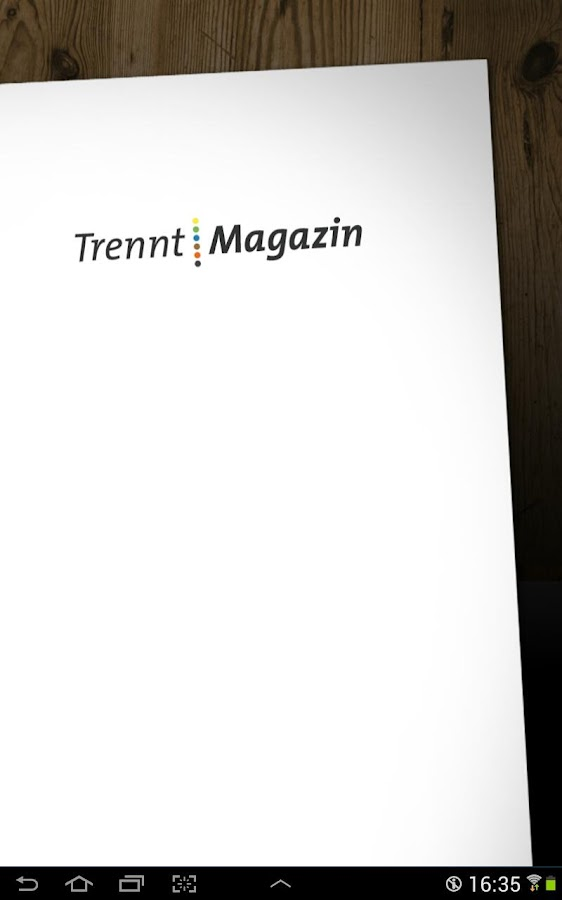 TrenntMagazin- screenshot