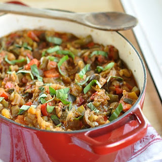 Easy French Ratatouille.
