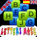 Letters Kids alphabet free logo