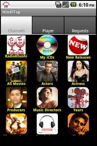 HindiTop - Hindi Radio & Songs - screenshot