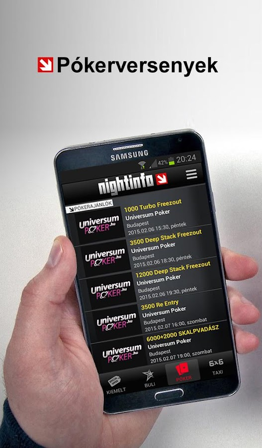 NightInfo- screenshot