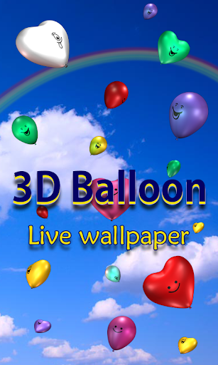 3D Balloons Live Wallpaper